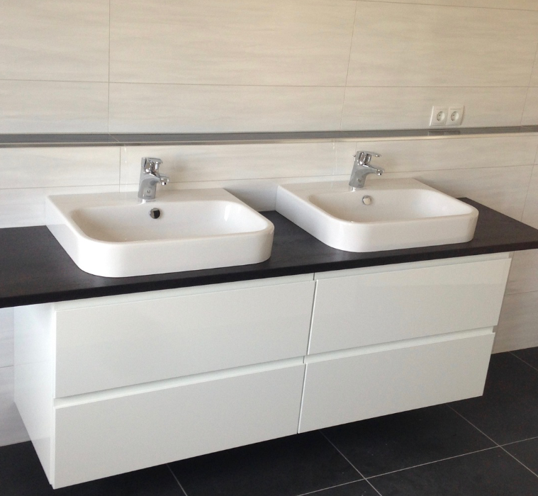 Einbaum bel badm bel garderoben i die manufaktur for Badschrank doppelwaschbecken